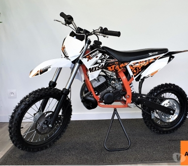 Photos Vivastreet Moto cross 50cc 2T Replica KTM 10cv Grandes Roues