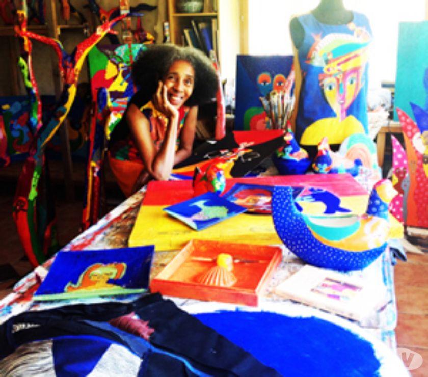 Photos Vivastreet Portes Ouvertes Atelier d'Aconcha artiste plurielle cubaine