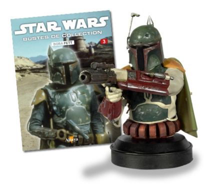 Photos Vivastreet Buste collection Star Wars Boba Fett