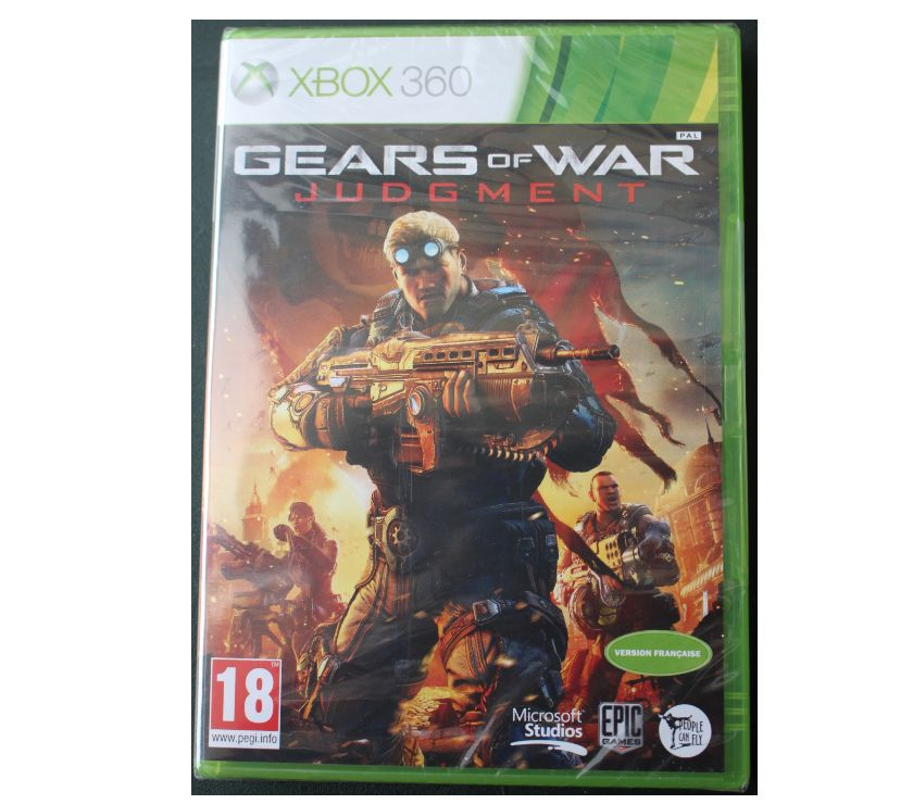 Photos Vivastreet Jeux video XBOX 360 « Gears of war Judgment » NEUF