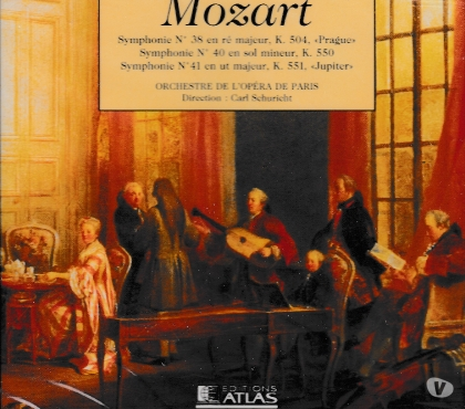 Photos Vivastreet CD Mozart Symphonie N°38, Symphonie N°40, Symphonie N° 41