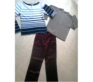 Photos Vivastreet pantalon -2 pulls - taille 1 - zoe