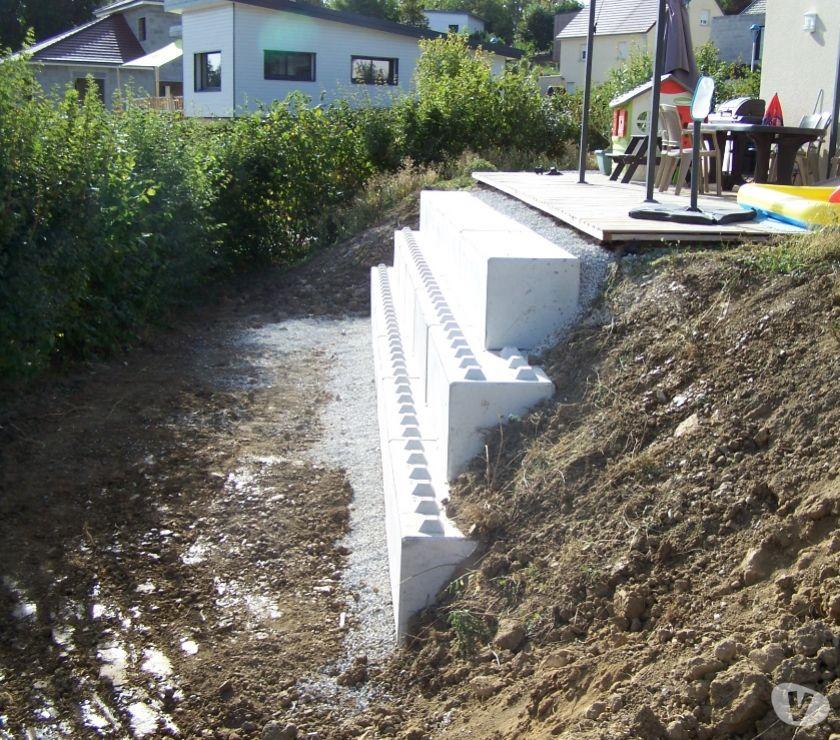 Mur Sout Nement Beton Gabion Blocs Modulable Pannessieres 39570 Mat Riel Pas Cher D
