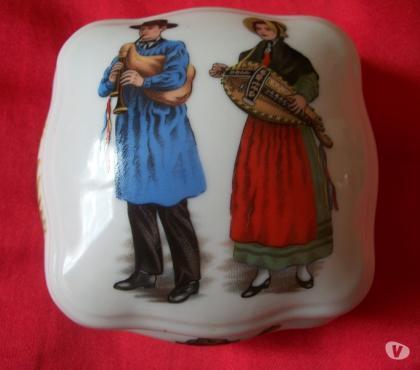 Photos Vivastreet bonbonnière porcelaine de limoges - P. Lenoir