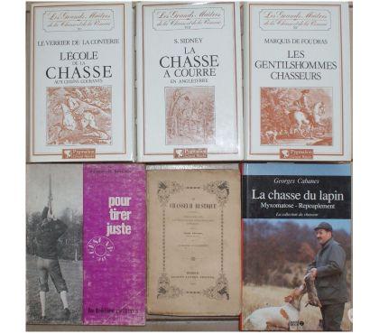 Photos Vivastreet 6 livres de chasse dont 1 livre ANCIEN : Le chasseur rustiqu