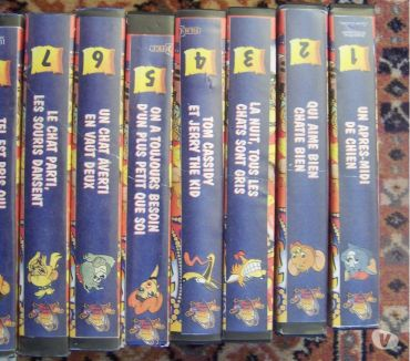 Photos Vivastreet LOT DE VHS DE TOM ET JERRY VINTAGE EN COFFRET