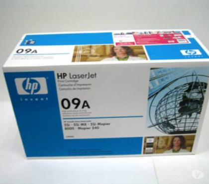 Photos Vivastreet Lot toner neufs hp 09 A pour imprimante hp