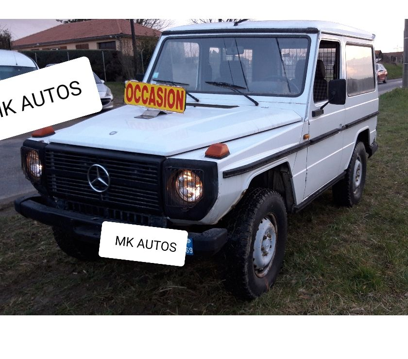 Photos Vivastreet MERCEDES GD 300 4X4 DIESEL 2 PLACES