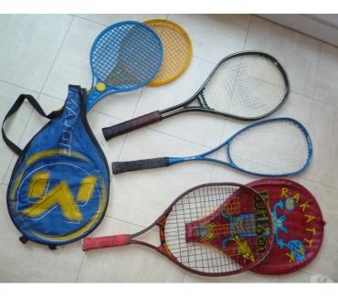 Photos Vivastreet rollers ados, raquettes de tennis et badminton - zoe