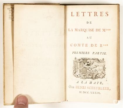Photos Vivastreet Lettres de la Marquise de M*** au Comte de R***, Crébillon