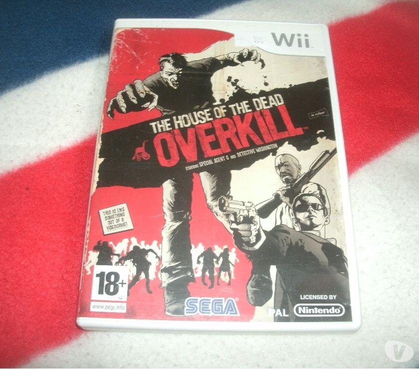 Photos Vivastreet wii the house of the dead overkill