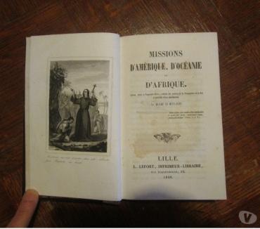 Photos Vivastreet Livre ancien - Missions d'Amérique, Océanie, Afrique 1846