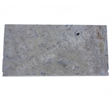Photos Vivastreet Travertin Silver Nez de Marche 30x60 3 cm Arrondi EN STOCK