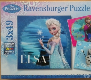 Photos Vivastreet 3 puzzles 49p Frozen