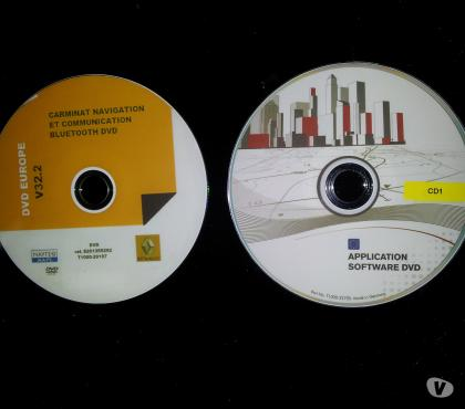 Photos Vivastreet Dvd europe v32.2 GPS carminat naviguation Renault (CNC)
