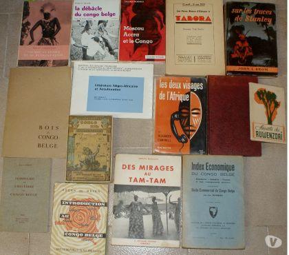 Photos Vivastreet 15 livres Afrique et Congo