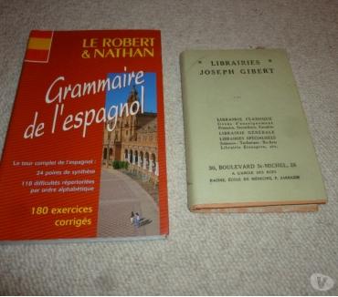 Photos Vivastreet 2 livres de grammaire espagnole