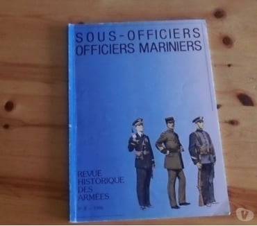 Photos Vivastreet RHA n°2 -sous officiers et officiers mariniers militaria