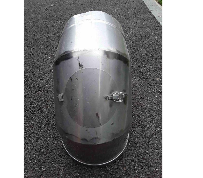 Matériel Isère Allevard - 38580 - Photos Vivastreet coude inox 250mm avec trappe de visite