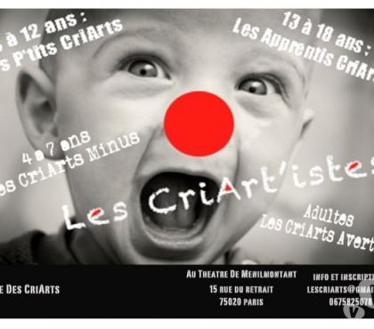 Photos Vivastreet Cours de Théâtre enfant ( 4 à 6/ 7à 12) et ados et adultes