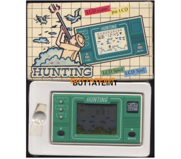 Photos Vivastreet LCD GAME MINI ARCADE 737F0101 HUNTING BOITE COMPLETE