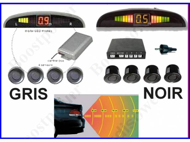 pi ces accessoires auto radar de recul kit camera recule aide au parking beeper led. Black Bedroom Furniture Sets. Home Design Ideas