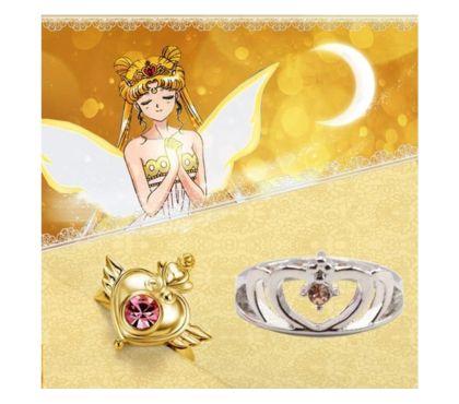Photos Vivastreet Bague Sailor moon manga anime japon lolita cosplay Serenity