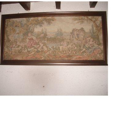 Photos Vivastreet grand tableau ancien toile