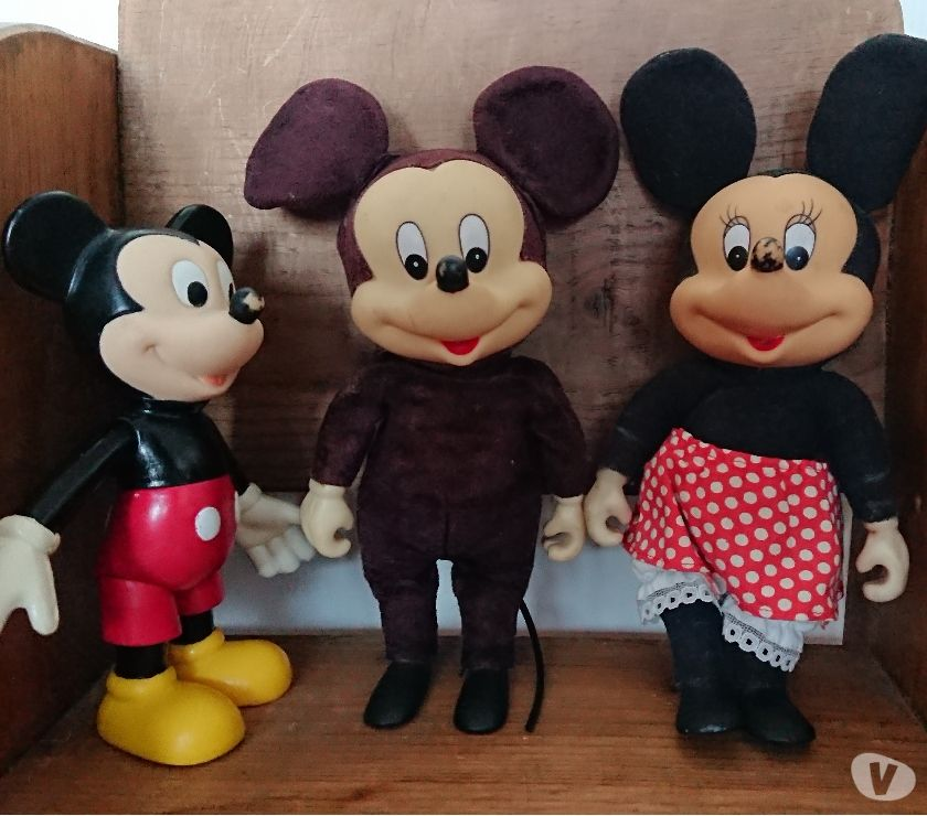 Photos Vivastreet lot de Mickey et minnie anciens