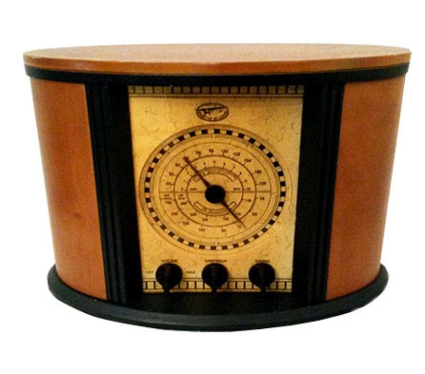 RADIO VINTAGE SPIRIT OF ST.LOUIS - Villeneuve le Roi - Caractéristiques : A / M F / M Bande météo TV1 et TV2 Radio Tuner capte les stations dans votre zone spécifique Un haut-parleur / pilote monobloc Monobloc qui agit comme un producteur d'ondes sonores réfléchissant. Cette radio  - Villeneuve le Roi