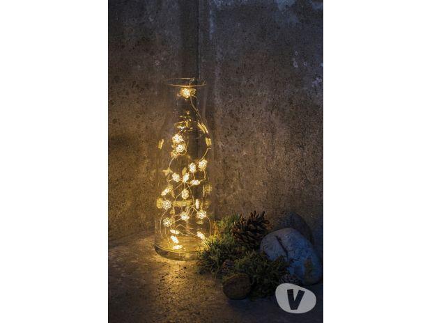 """Photos Vivastreet Guirlande Lumineuse 40 LED """"Etoile"""" fonctionnant à Piles"""