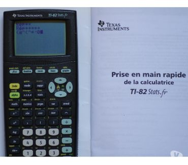 Photos Vivastreet TEXAS INSTRUMENTS TI-82 Stats.fr
