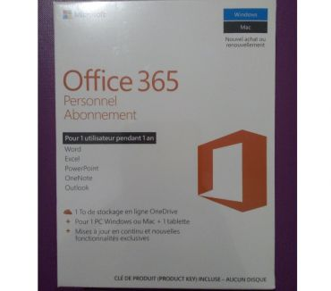 Photos Vivastreet Pack office 365 personnel 2016