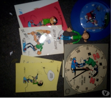 Photos Vivastreet Gaston Lagaffe figurine-pendules-cartes
