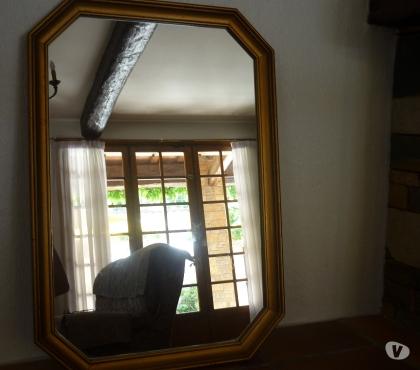 Photos Vivastreet beau miroir en bois doré
