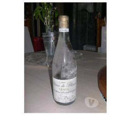 Photos Vivastreet 5 bouteilles de vin blanc 1970