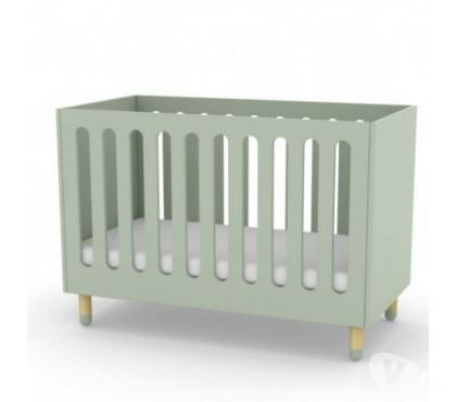 Photos Vivastreet Lit bébé avec sommier 60x120 Flexa menthe