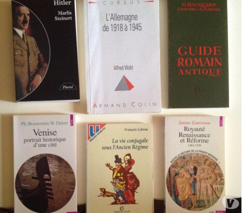 Livres occasion Moselle Nilvange - 57240 - Photos Vivastreet Livres Histoire
