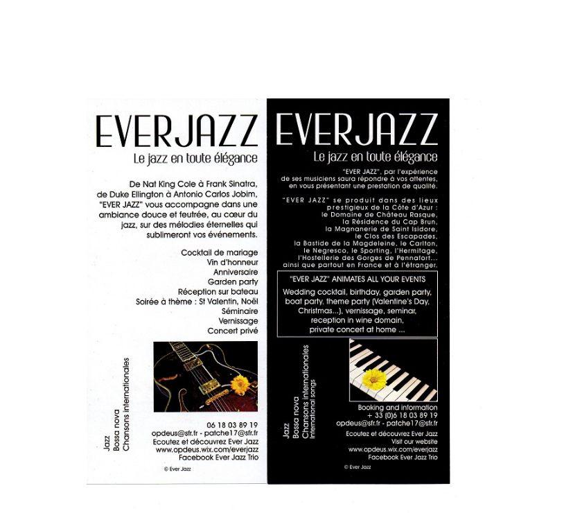 Photos Vivastreet EVER JAZZ : du jazz dans votre cocktail de mariage !