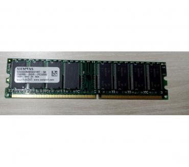 Photos Vivastreet Barrette RAM SIEMENS 256MB DDR PC3200 108391-0345-SN SDU0326