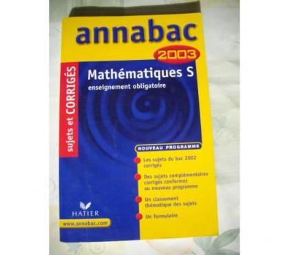 Photos Vivastreet Annabac Maths S enseignement obligatoire