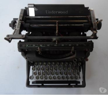 Photos Vivastreet Machine à écrire UNDERWOOD N°5 UNDERWOOD Typewriter No. 5