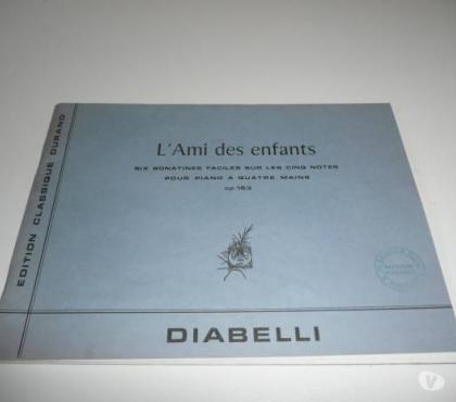 Photos Vivastreet PARTITIONS PIANO L'AMI DES ENFANTS - DIABELLI