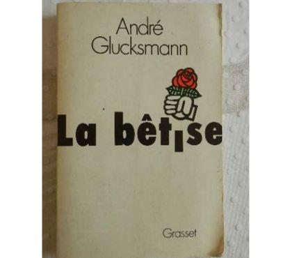 Photos Vivastreet La Bétise André Glucksman.