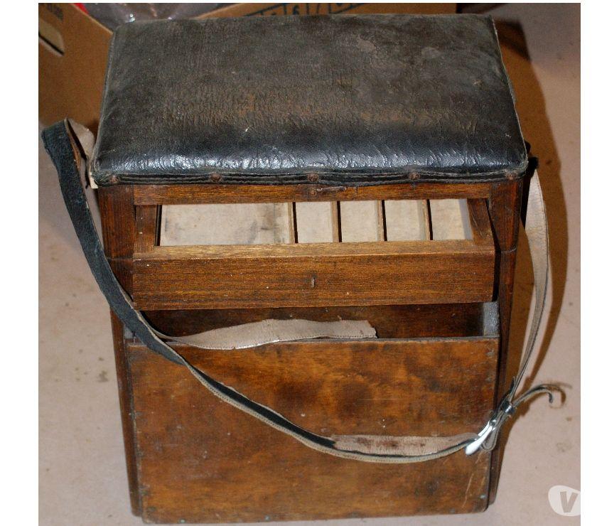 Photos Vivastreet : ancienne boite siège pour la pêche avec tiroir