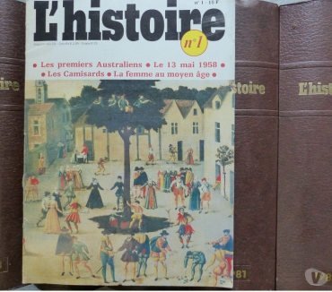 Photos Vivastreet Collection Magazines L'HISTOIRE