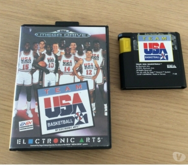 Photos Vivastreet Team USA Basketball sur Megadrive