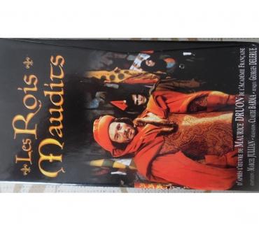 Photos Vivastreet Coffret de 3 cassettes vidéo avec le livret des rois maudits
