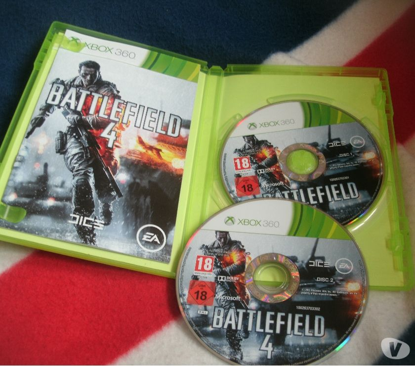 Photos Vivastreet xbox 360 battlefield 4