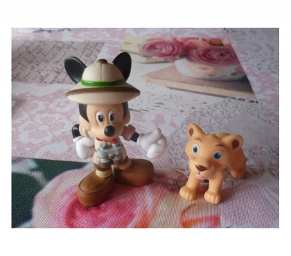 Photos Vivastreet Figurine Mickey safari disney anime TV revelle Wall E enfant
